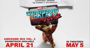 Saquen sus walkman con el soundtrack de Guardians of the Galaxy Vol.2