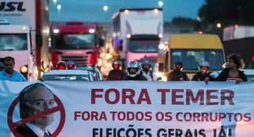 Huelga general paraliza principales ciudades de Brasil, van contra las reformas del presidente