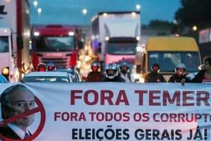 Paro general en Brasil