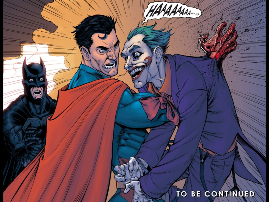Superman mata al Joker en Injustice
