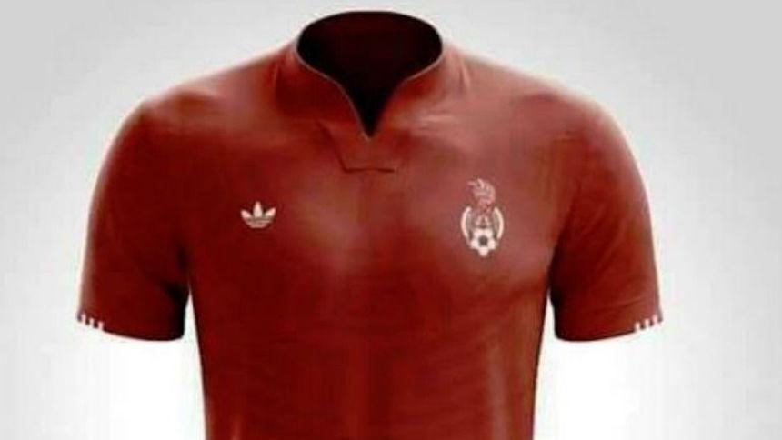 Filtran un posible jersey alternativo de la Selección Mexicana