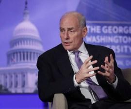 John Kelly, director del Departamento de Seguridad Nacional