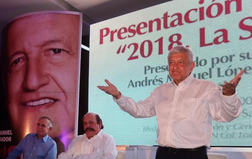 Andrés Manuel López Obrador (AMLO), presidente nacional de Morena
