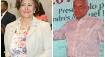 Captan a candidata de Morena recibiendo marmaja