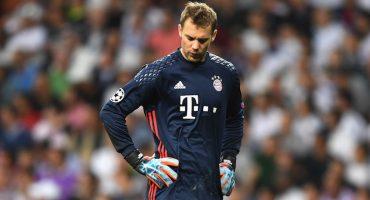 ¡Manuel Neuer está fuera toda la temporada!