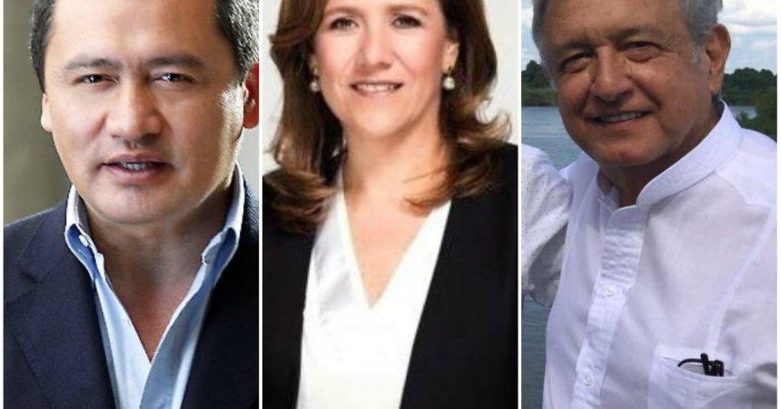 Andrés Manuel López Obrador (AMLO), Miguel Ángel Osorio Chong y Margarita Zavala: los candidatos punteros rumbo a las elecciones 2018