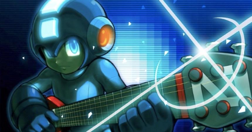Mega Man y la música