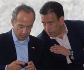 Felipe Calderón y Humberto Moreira