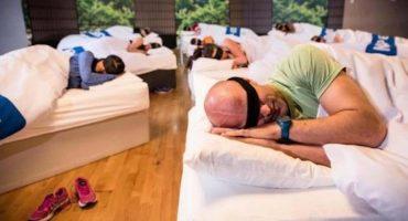 Un gimnasio abre sus increíbles clases... ¡para dormir!
