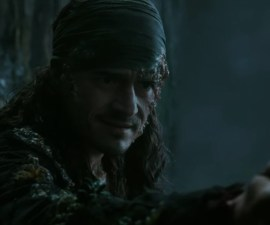 Orlando Bloom en Pirates of the Carebbean: Dead Men Tell No Tales