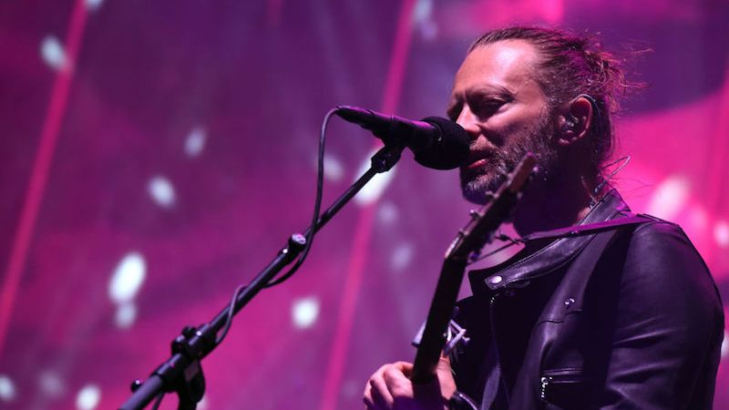 Radiohead en Coachella 2017