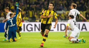 Checa el golazo de Raphael Guerreiro en el Bayern Munich vs Borussia Dortmund
