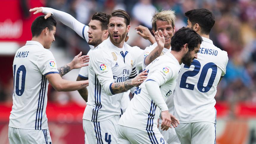 El Real Madrid le remonta sobre la hora al Sporting de Gijón