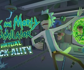 Rick and Morty - Juego en VR