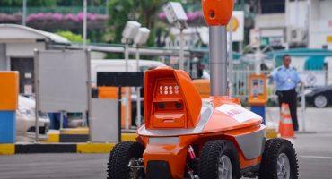 Singapur sustituye a sus guardias de seguridad con... estos robots