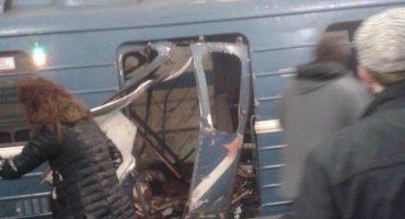 Se reporta explosión en metro de San Petersburgo; hay varios heridos