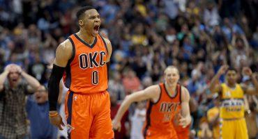 Cuando Kevin Durant se fue, Russell Westbrook comenzó la campaña para MVP