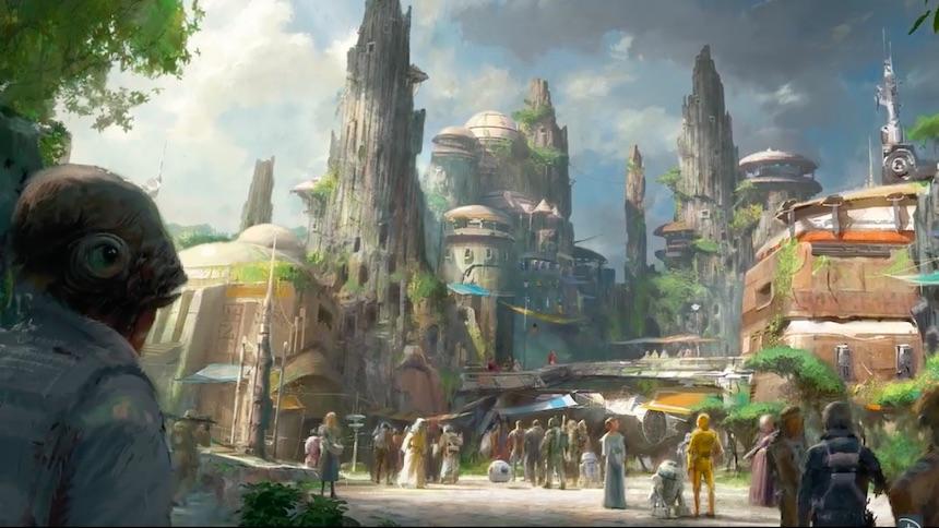 Parques Temáticos de Star Wars