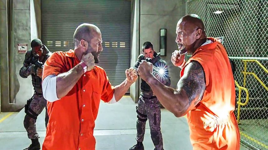 Dwayne Johnson vs Jason Statham