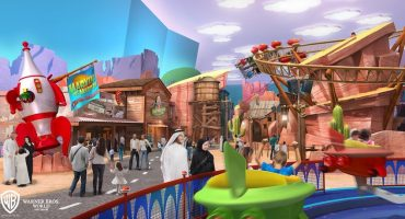 Codéense con Batman en un parque temático en Abu Dabi