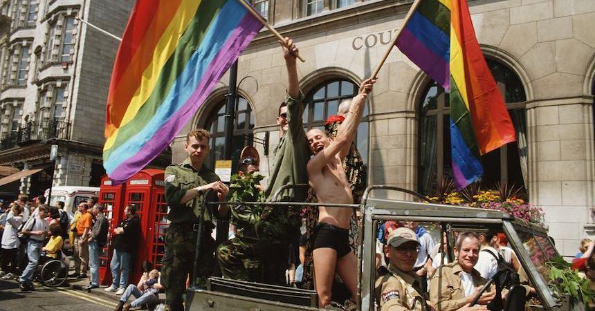 Manifestación LGBTTTI 1990's