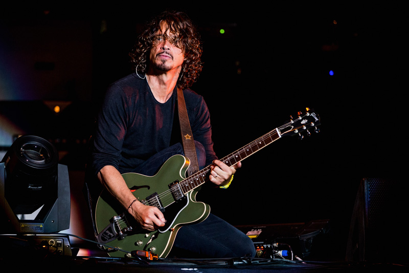 Chris Cornell concierto Soundgarden