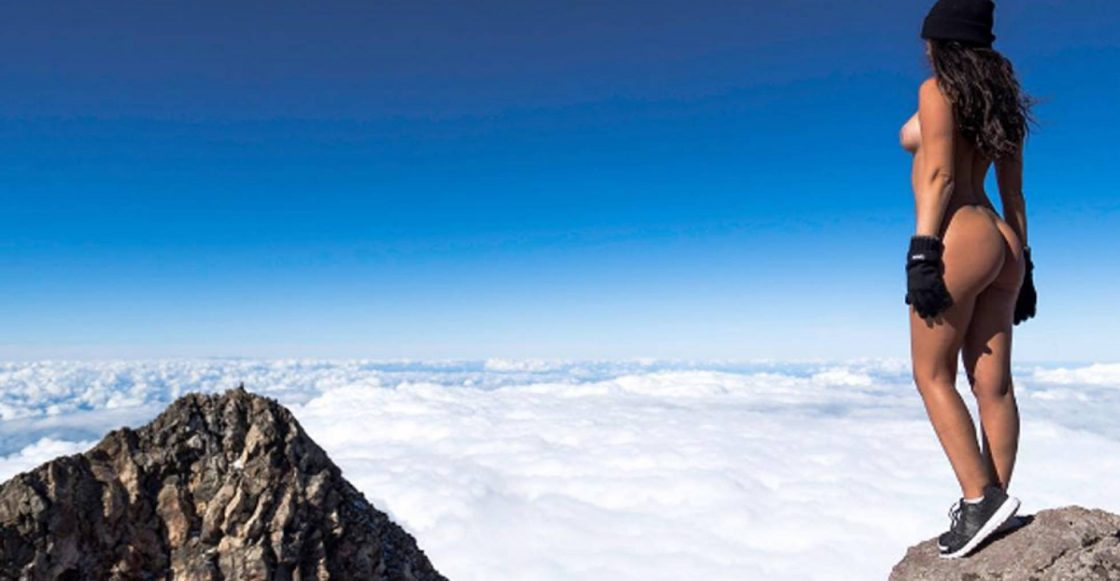 Foto tomada en el monte Taranaki