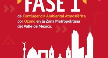 Y vamos por el quinto: Cinco días seguidos de Contingencia Ambiental en la Zona Metropolitana del Valle de México