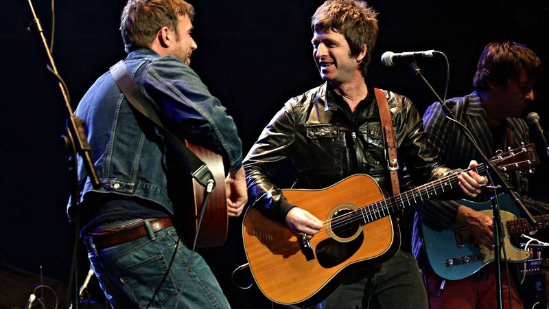 Damon Albarn y Noel Gallagher juntos en Gorillaz