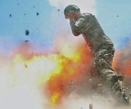 Explosión Soldados en Afganistan