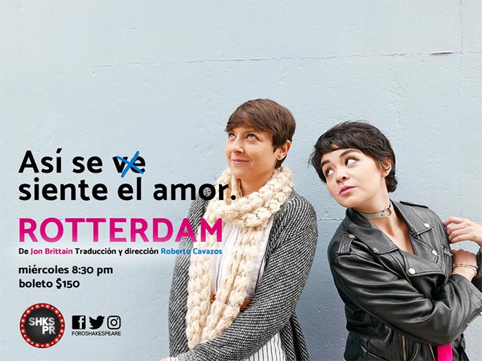 Cuando el amor no sabe de género: Rotterdam