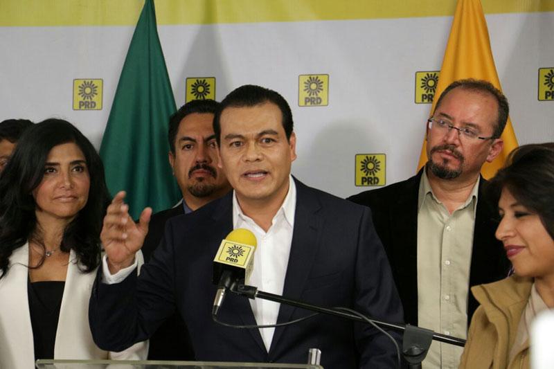 Juan Zepeda candidato del PRD a la gobernatura del Estado de México