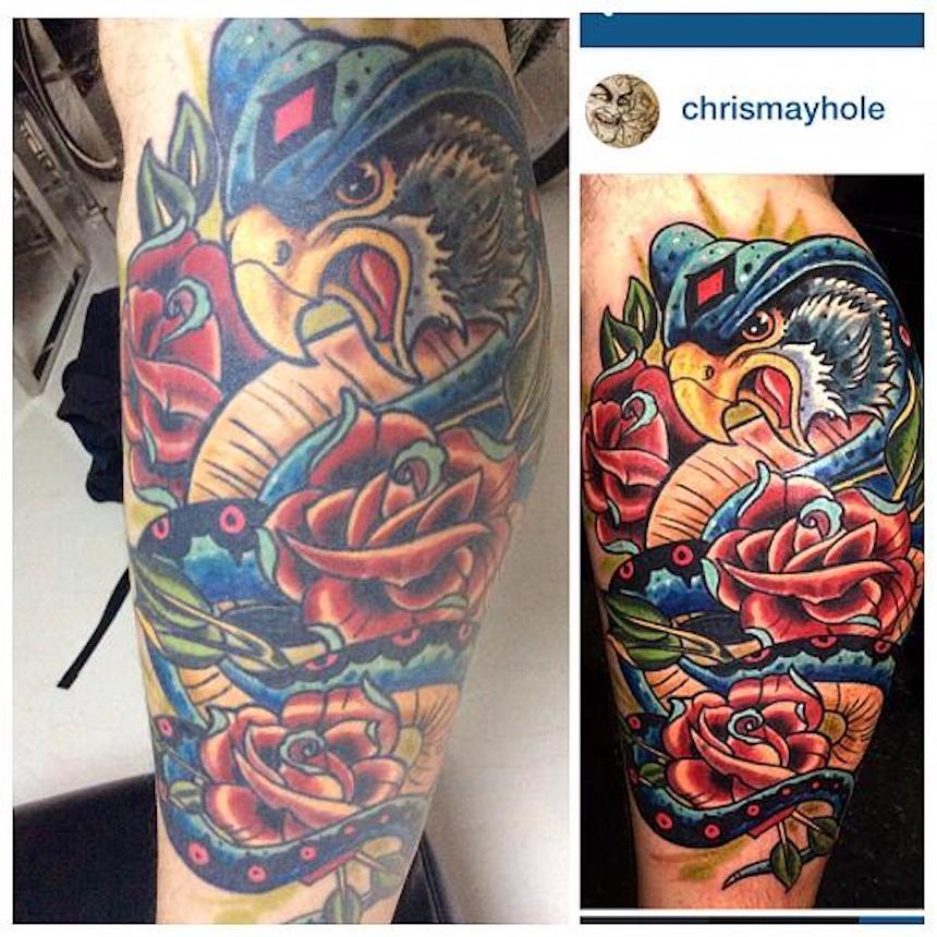 Tatuajes - halcón