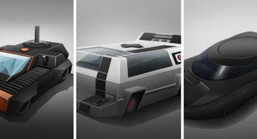 ¿Conducirías autos con forma de consolas de videojuegos?