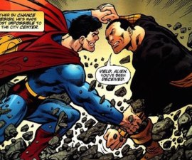 Black Adam Vs. Superman
