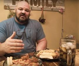 Brian Shaw - Dieta del hombre más fuerte del mundo