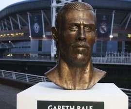 Busto de Gareth Bale