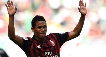 Carlos Bacca dejaría al Milan terminando la temporada