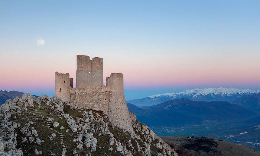 Castillo viejo en Italia