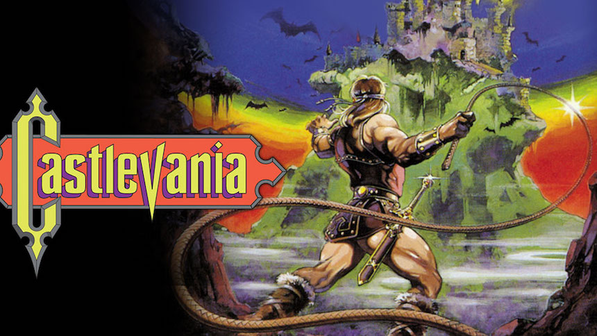 La nostalgia está presente en el póster de la serie de Castlevania