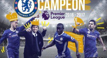 Histórico: el Chelsea de Antonio Conte ya es campeón de la Premier