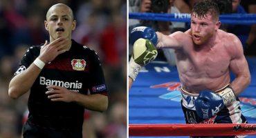 Chicharito y Canelo entre los deportistas más populares del mundo