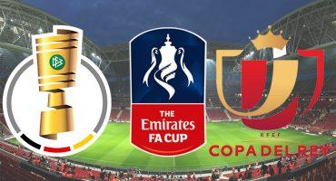 ¡Sábado de Copas en España, Inglaterra, Francia y Alemania!