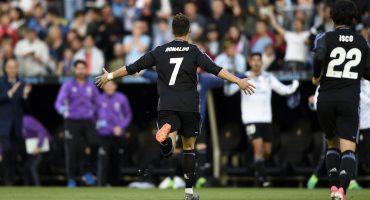 ¡Real Madrid venció al Celta de Vigo y está a un punto de ser campeón!