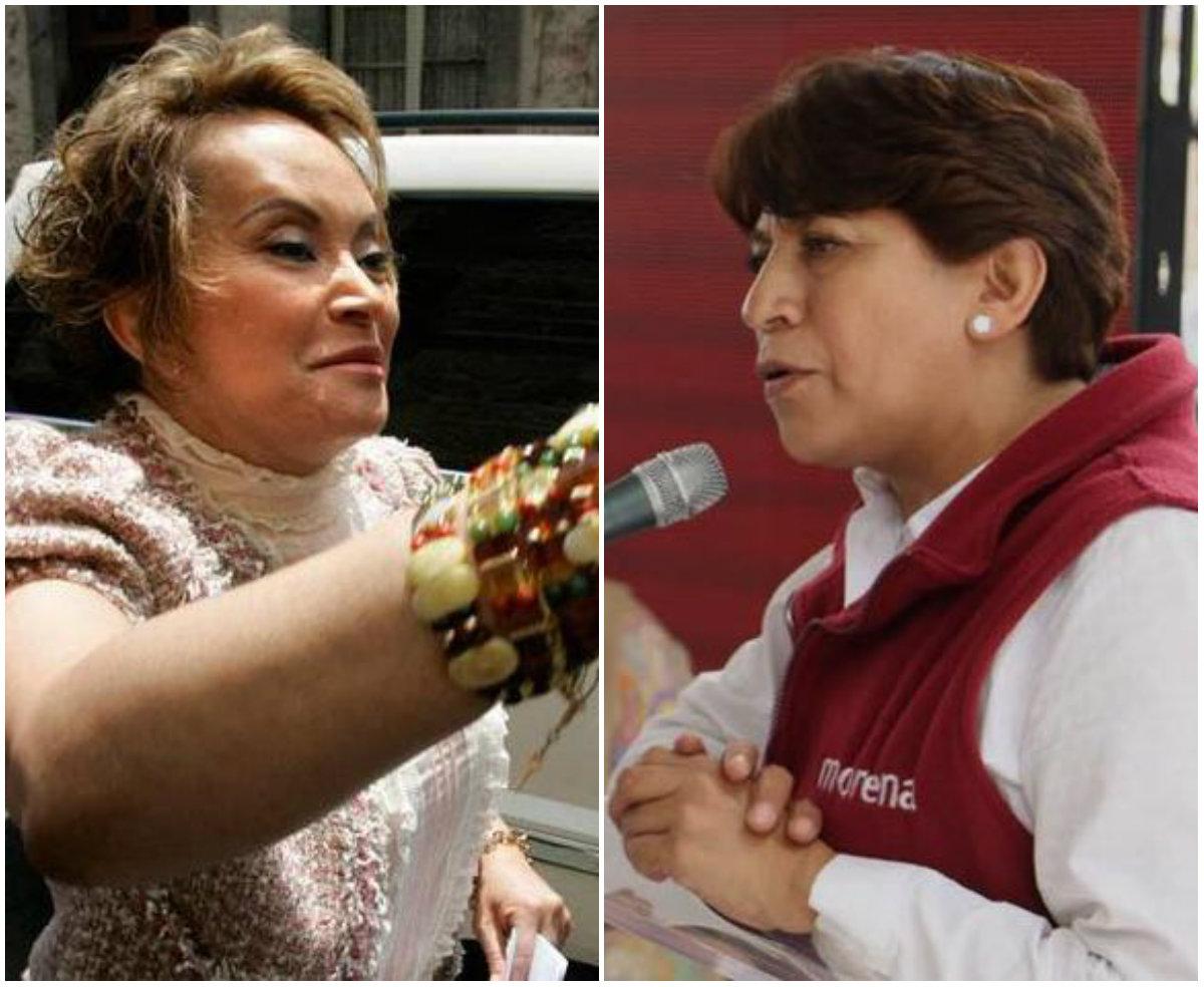 Delfina Gómez y Elba Esther Gordillo