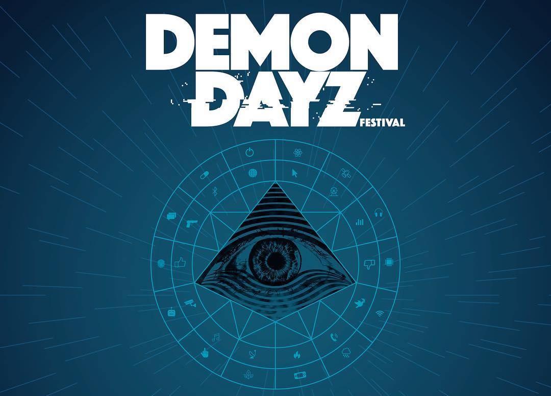 ¡Este es el lineup de Demon Dayz, el festival de Gorillaz!