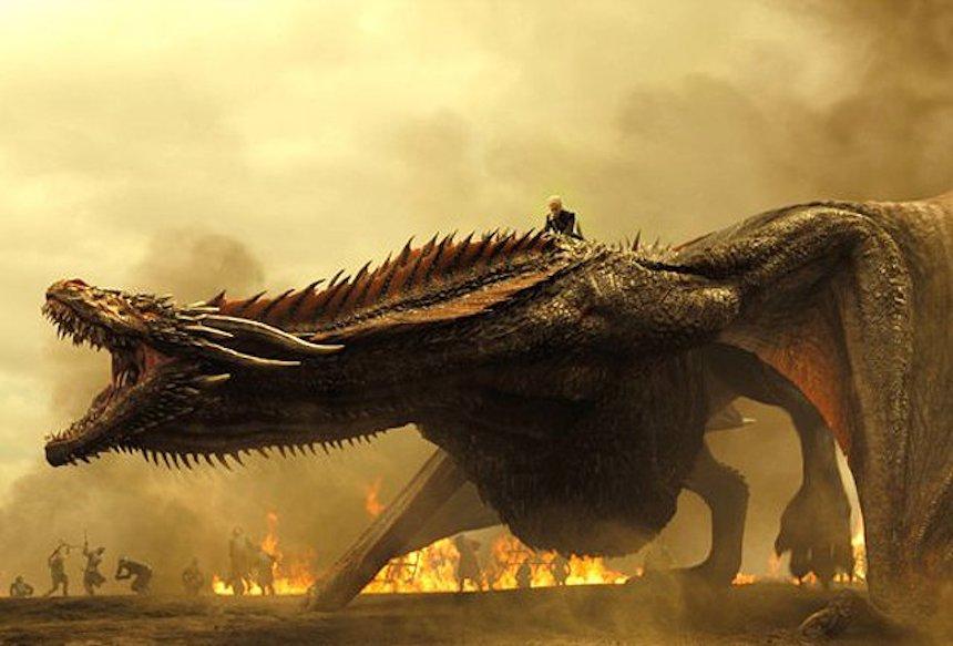 Game of Thrones - Dragón