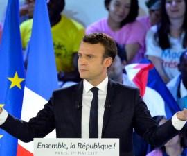 Emmanuel Macron, candidato independiente a la presidencia de Francia