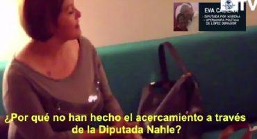 En nuevo video, Eva Cadena señala quién es la supuesta
