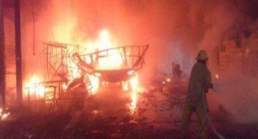 Explota depósito de cohetes en Chilchotla, Puebla: 12 muertos y 30 heridos